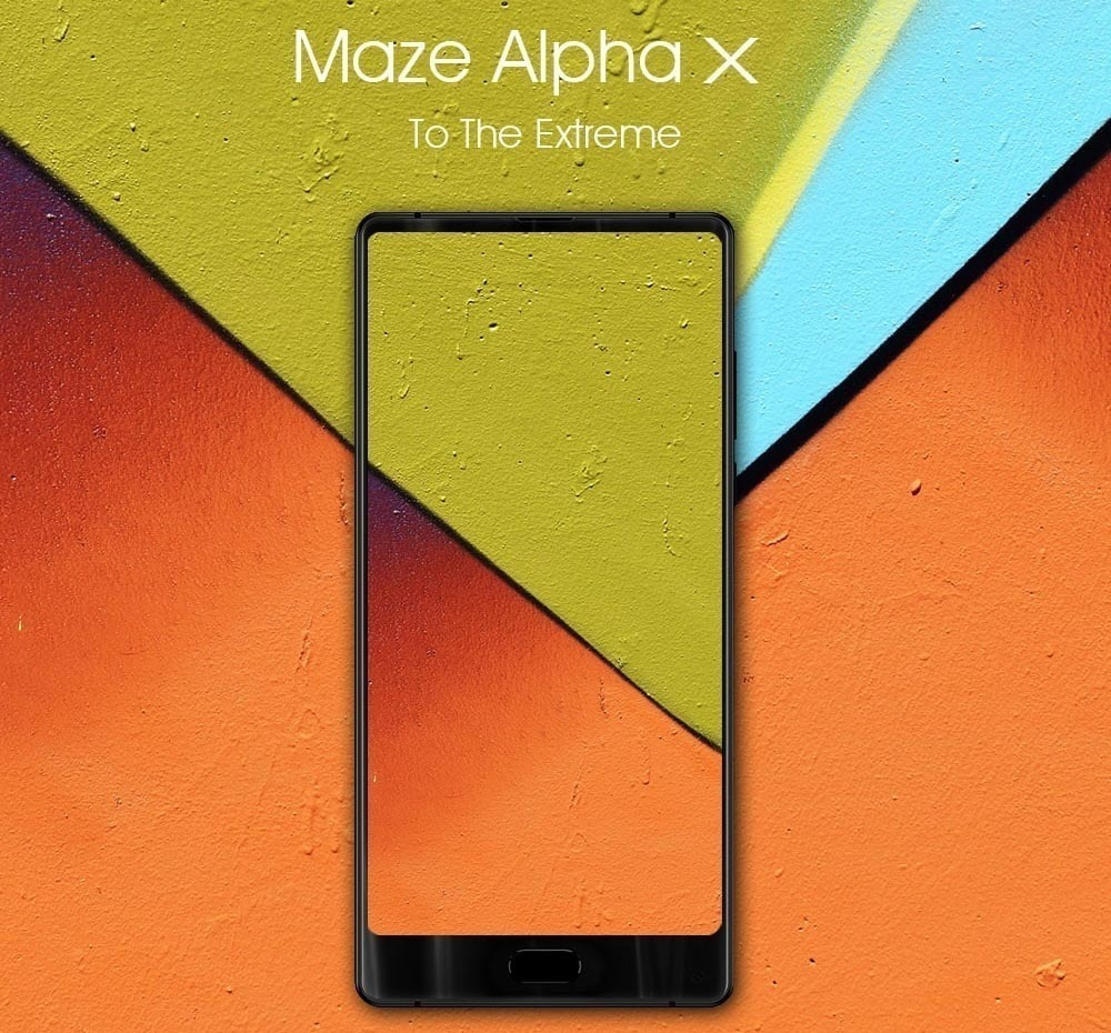 Maze Alpha X mobile phone